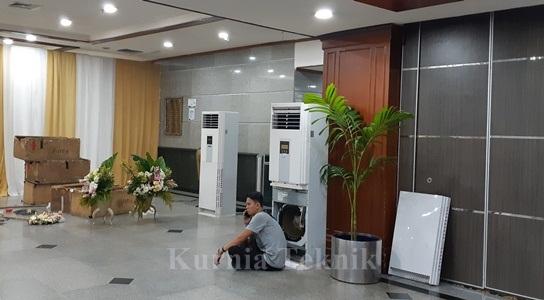 Rental AC 5 PK Unit Bersih Rapi, Pengiriman Tepat Waktu